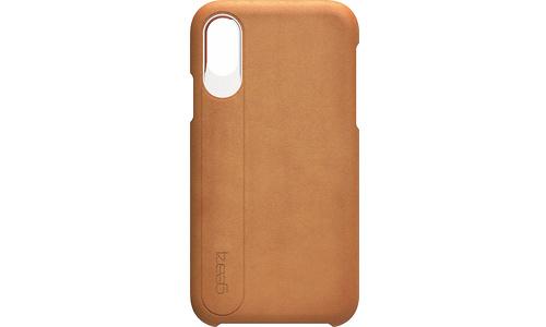 Gear4 iPhone X / XS D30 Knightsbridge Case Leather Brown