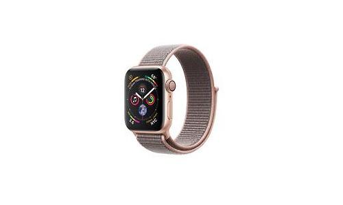 Apple Watch Series 4 40mm Gold Sport Loop Pink Sand