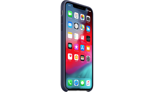 Apple iPhone XS Max Silicone Case Midnight Blue