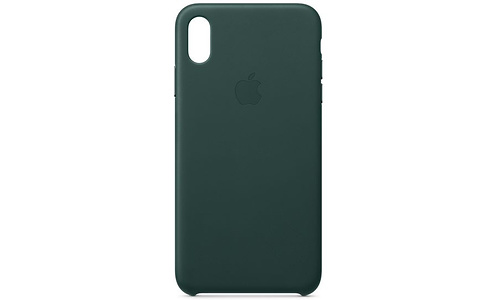 Apple iPhone Xs Max Leather Case Forest Green
