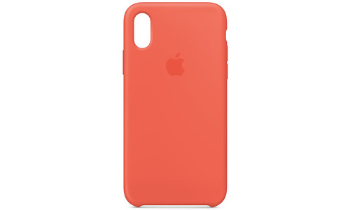 Apple iPhone Xs Silicone Case Nectarine