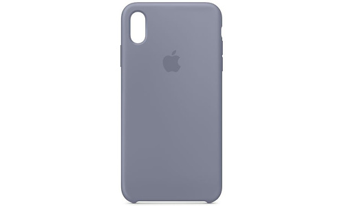 Apple iPhone Xs Silicone Case Lavender Grey
