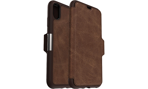 Otterbox Strada Apple iPhone Xs Max Book Case Brown
