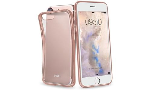SBS Mobile Cover Slim Transparent Edge iPhone 7 Rose Gold