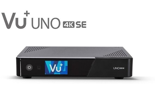 VU+ Uno 4K SE 1x DVB-C FBC Twin Tuner Black
