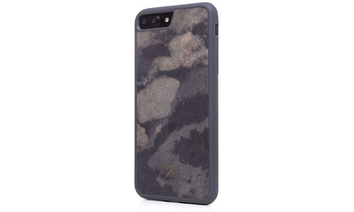 Woodcessories EcoCase Stonez Airshock, for iPhone 7/8 Plus, Grey