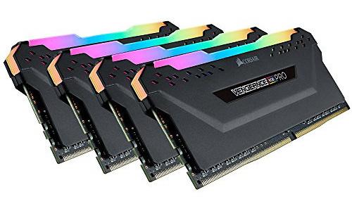 Corsair Vengeance RGB Pro Black 64GB DDR4-2666 CL16 quad kit
