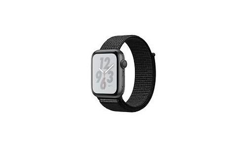 Apple Watch Nike+ Series 4 44mm Space Grey Sport Loop Black