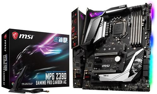 MSI MPG Z390 Gaming Pro Carbon AC