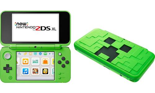 Nintendo New 2DS XL Minecraft Creeper