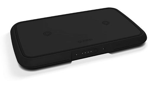 Zens Wireless Charger Powerbank Dual 9000 Black