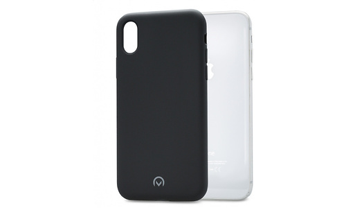 Mobilize Solid Silicone Case Apple iPhone X/Xs Black