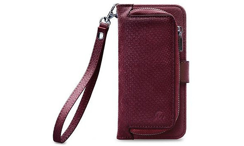 Mobilize 2in1 Gelly Wallet Zipper Case Samsung Galaxy A8 2018 Bordeaux