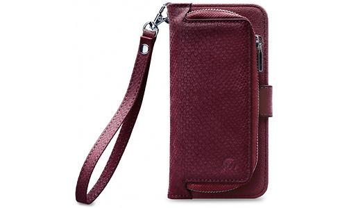 Mobilize Premium 2-in-1 Gelly Wallet Zipper Case Samsung Galaxy J6 2018 Bordeaux