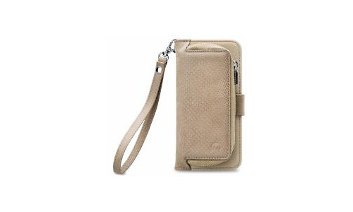 Mobilize 2in1 Gelly Wallet Zipper Case Samsung Galaxy S8 Latte