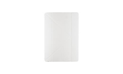 Xccess TPU Fold Stand Case iPad 9.7 2017/2018 Transparent Black/White