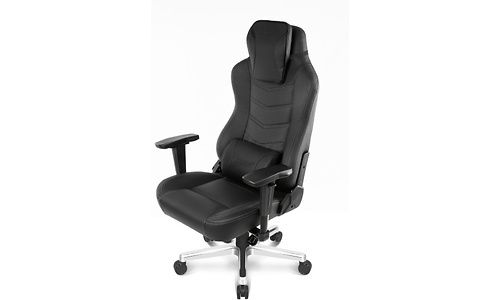 AKRacing Gaming Chair Office Deluxe PU Leather Onyx Black