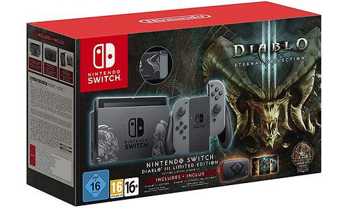 Nintendo Switch Diablo III Limited Edition 32GB Grey