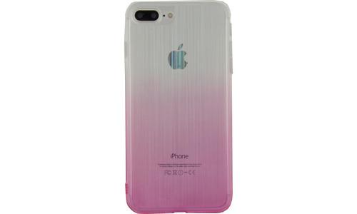 Xccess Thin TPU Case Apple iPhone 7 Plus/8 Plus Gradual Pink
