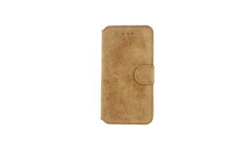 Xccess Wallet Book Stand Case Apple iPhone 7 Plus/8 Plus Vintage Light Brown