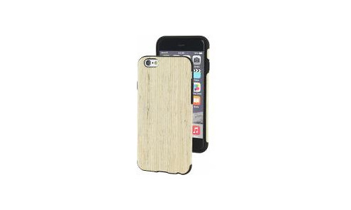 Xccess Wooden TPU Case Apple iPhone 6/6S Oak Slate White