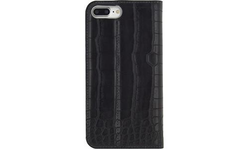 Mobilize Premium Gelly Book Case Apple iPhone 7 Plus Alligator Midnight Black