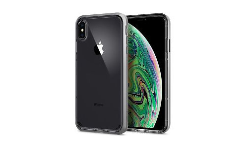 Spigen Neo Hybrid Crystal Cover iPhone XS Max Crystal Satin Silver