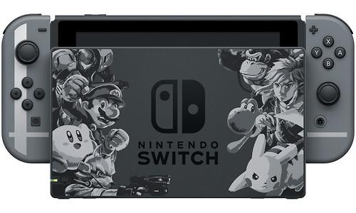 Nintendo Switch Super Smash Bros Ultimate Edition Grey
