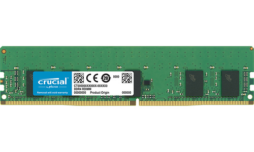 Crucial 8GB DDR4-2933 CL21 ECC Registered