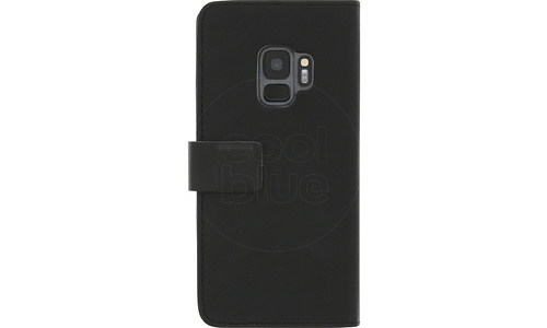 Azuri Walletcase Whiteh Magnetic Closure Black Samsung S9