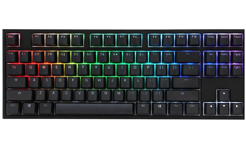 Ducky One 2 RGB TKL MX-Red Black (US)
