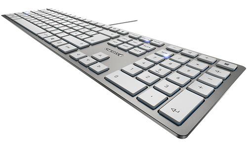 Cherry KC 6000 Slim USB White/silver (US)