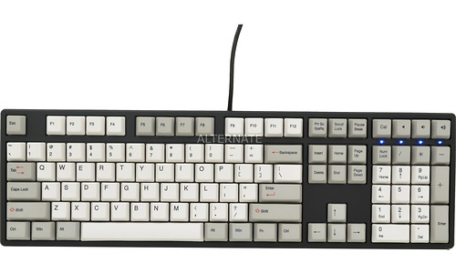 Ducky One DKON1608 MX-Red Black/White (US)