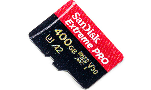 Sandisk Extreme Pro MicroSDXC UHS-I U3 400GB + Adapter