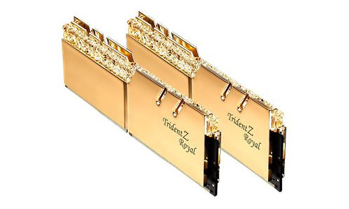 G.Skill Trident Z Royal RGB Gold 16GB DDR4-3600 CL18 kit