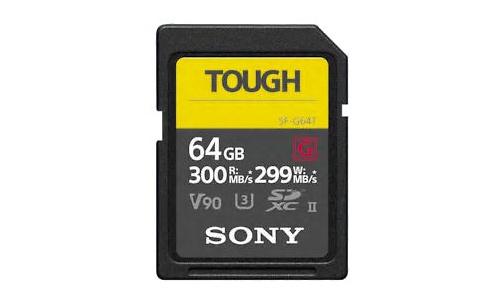Sony Pro Tough SDXC UHS-II U3 64GB