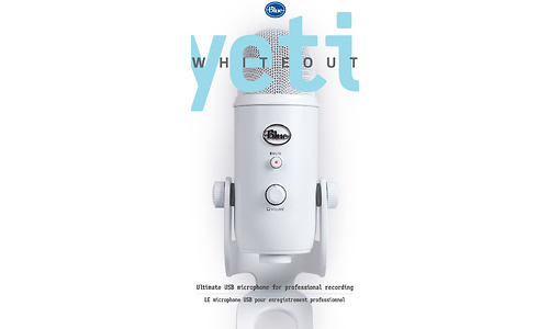 Blue Microphones Yeti USB Microphone White