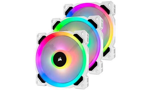 Corsair LL120 RGB White 3-pack
