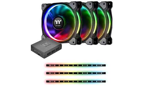 Thermaltake Riing Plus 12 RGB kit 3-pack