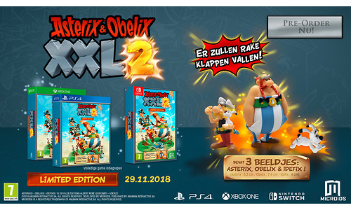 Asterix & Obelix: XXL 2, Limited Edition (PlayStation 4)