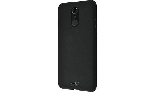 Azuri Flexible Sand LG Q7 2018 Back Cover Black