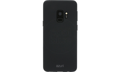 Azuri Flexible Sand Samsung Galaxy S9 Back Cover Black