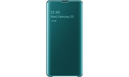 Samsung Galaxy S10 Clear View Cover Green