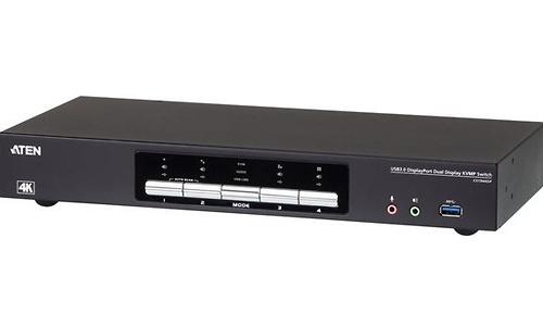 Aten CS1944DP KVM / audio / USB switch 4 x KVM / audio 4 lokale gebruikers desktop