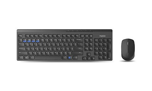 Rapoo 8100M Multi Mode Combo Black