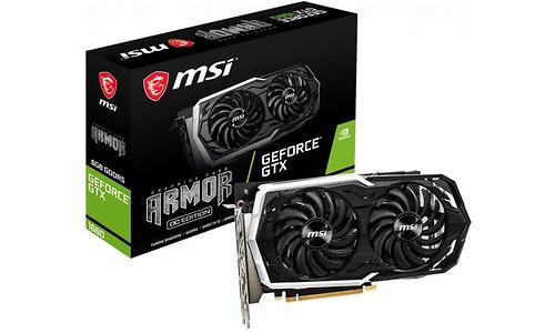 MSI GeForce GTX 1660 Armor OC 6GB