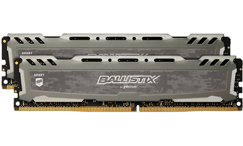 Crucial Ballistix Sport LT 16GB DDR4-3200 CL16 kit Grey