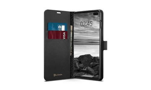 Spigen La Manon Wallet Book Case Samsung Galaxy S10 Plus Black
