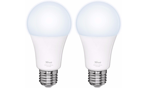 Trust Smart Home White Ambiance E27 2-Pack