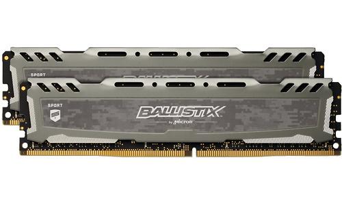 Crucial Ballistix Sport LT 32GB DDR4-3000 CL15 kit Grey